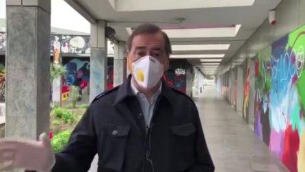 """""""Oggi ho visto molta gente in giro a Milano, stiamo a casa"""": l'appello del sindaco Beppe Sala"""