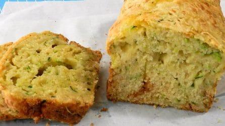 Plumcake salato con zucchine: la ricetta per prepararlo senza lievito di birra