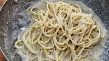 Spaghetti cacio e pepe: la ricetta per averli davvero squisiti