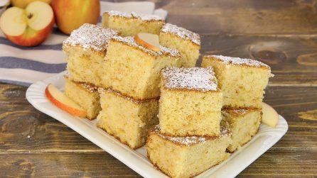Torta di mele frullate: il dolce facile ed economico pronto in 30 minuti!