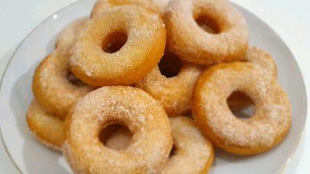 Ciambelle senza lievitazione: la ricetta per averle soffici e gustose