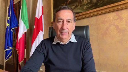 """Sala: """"Primo maggio a casa? Non so nulla"""". Sui conti del Comune di Milano: """"Saranno disastrosi"""""""