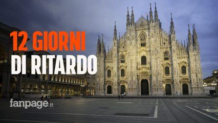 """Covid-19, virologo Pregliasco: """"La Lombardia sconta almeno 12 giorni di ritardo nelle chiusure"""""""