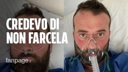 """Fausto preparatore atletico di 38 anni: """"Ero sanissimo, per giorni ho lottato in terapia intensiva"""""""