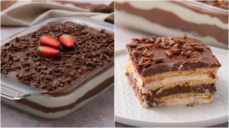 Chocolate Cookie Layered Pudding Dessert: everyone will love it!