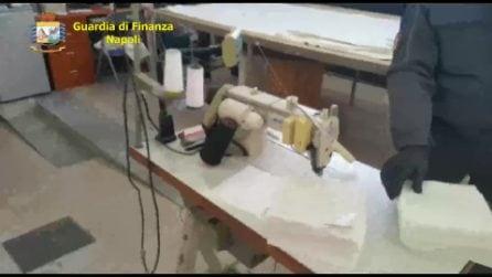 Sequestrata fabbrica abusiva di mascherine a Roccarainola con 1.200 dispositivi non sterili
