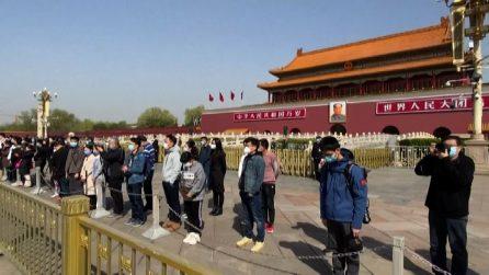Coronavirus, in Cina tre minuti di silenzio: omaggio alle vittime