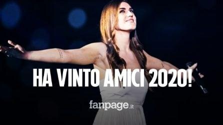 Amici 2020, vince il serale Gaia Gozzi: la cantante ha avuto la meglio sul ballerino Javier