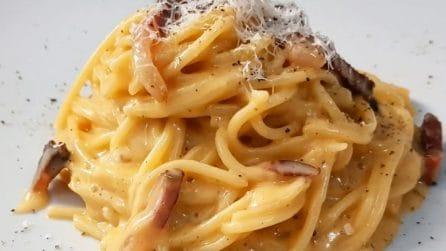 Spaghetti alla carbonara: la ricetta del primo piatto strepitoso