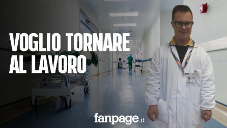 """Lorenzo, 41 anni con la Sindrome di Down: """"Mi mancano lavoro e amici"""""""