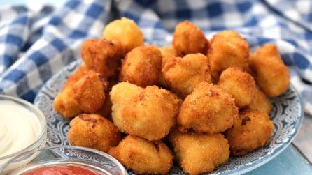 Fried chicken tots: easy and quick to make!
