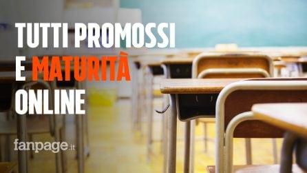 Scuola, tutti promossi e maturità online: cosa succede con l'emergenza Coronavirus