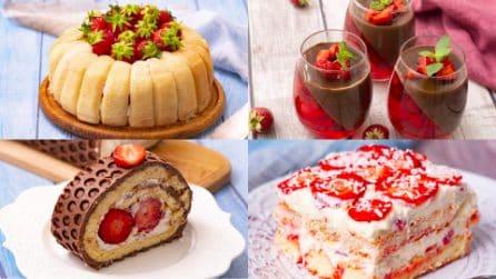 Finalmente è arrivato il periodo delle fragole! Dai libero sfogo alla fantasia con queste ricette!
