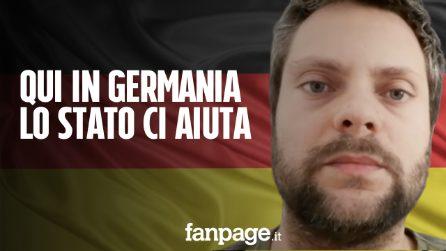 """""""Qui in Germania lo Stato ci sostiene: 5mila euro subito per lavoratori autonomi e piccole imprese"""""""