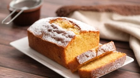 How to make a fluffy orange pound cake with a milk carton!