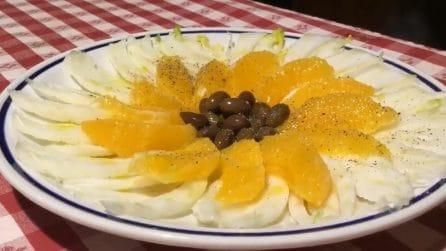 Insalata di finocchi di arancia: la ricetta veloce e saporita