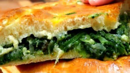 Pizza di scarole: la ricetta tradizionale dal sapore unico