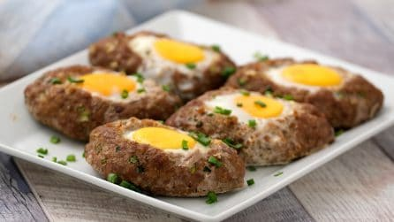 Meat nests: a quick recipe for a delicious dinner!
