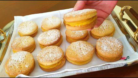 Biscotti fourré con crema all'arancia: la ricetta per averli fragranti e gustosi