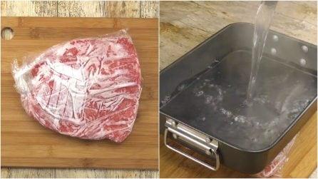 Il trucco geniale per scongelare la carne in modo rapido e sicuro!