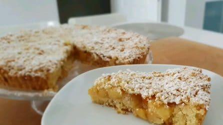 Sbriciolata di mele: la ricetta del dessert che piace a tutti