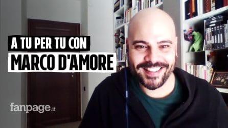 A tu per tu con Marco D'Amore
