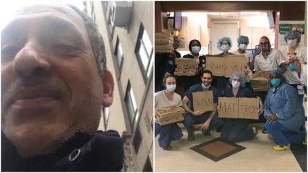 Ciro, il pizzaiolo che porta il calore dell'Italia negli ospedali di New York durante il Coronavirus