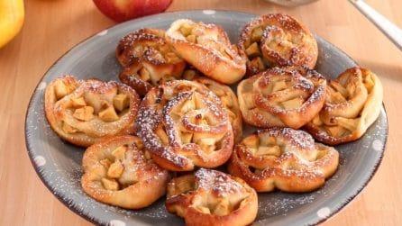Girelle alle mele: la ricetta del dessert che accontenta tutti