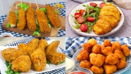 Voglia di pollo fritto? Prova queste 4 ricette da leccarsi i baffi!