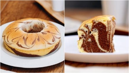 Zebra cake: a moist and fluffy dessert to try!