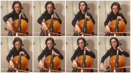 Una canzone che tutti abbiamo ascoltato da bambini: eccola suonata con 8 violoncelli