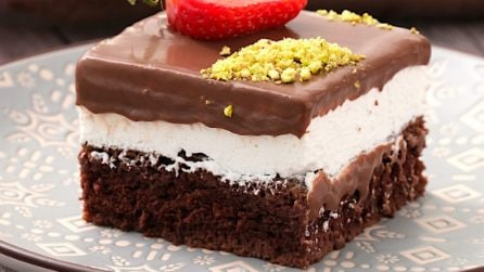Smart chocolate squares: the dessert to feed a crowd!
