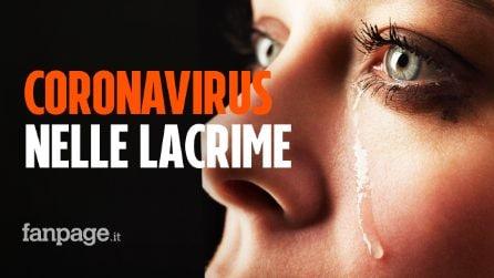 Coronavirus nelle lacrime: la scoperta dei ricercatori italiani dello Spallanzani