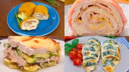 4 ricette con il pollo perfette per la cena!