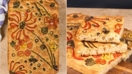 Painting focaccia: letting your creative juices flow!