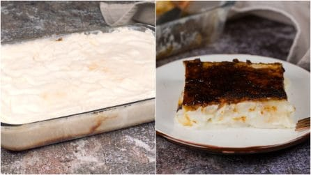 4 ingredients creamy cake: the end result is just delicious!