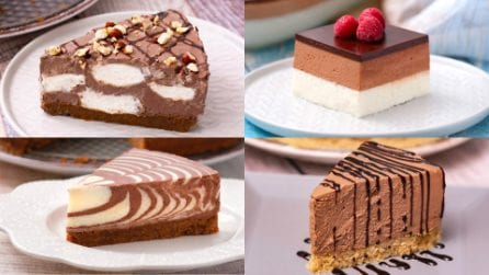 4 golose ricette per una cheesecake al cioccolato irresistibile!