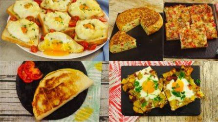 4 Ricette con le uova che non stancano mai! Perfetti per i pasti di tutti i giorni!