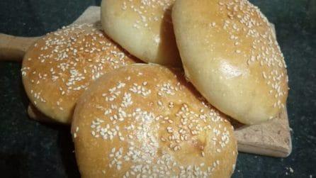Panini per hamburger: la ricetta semplice per farlo in casa