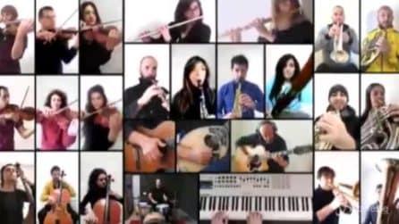25 Aprile, spopola sui social il video orchestrale di 'Bella Ciao' in onore di medici e infermieri