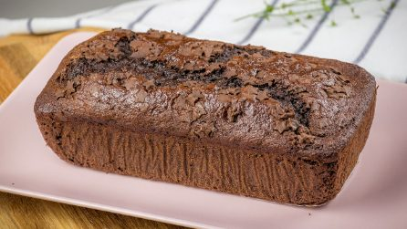Chocolate banana cake: a delicious idea to use ripe bananas!
