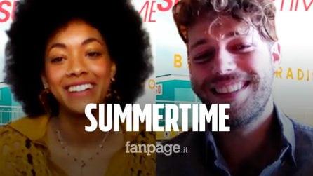 Summertime, Ludovico Tersigni e Coco Rebecca Edogamhe parlano della nuova serie Netflix
