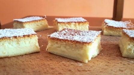 Torta magica al cocco: il dessert semplice, bello e golosissimo