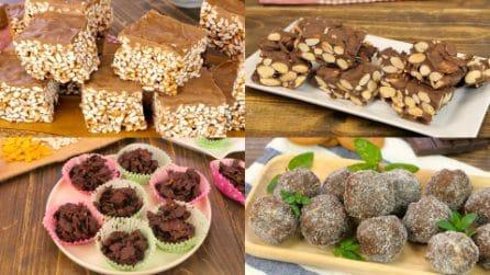 5 buonissimi dolci al cioccolato che puoi realizzare facilmente e senza cottura!