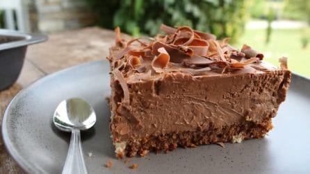 Torta mousse al cioccolato: il dessert cremoso da provare