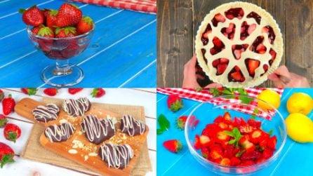 6 ricette golose per gustare le fragole in modo originale!