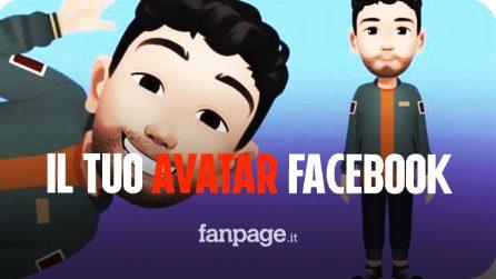 Novità Facebook, arrivano i nuovi avatar: ecco come creare il tuo