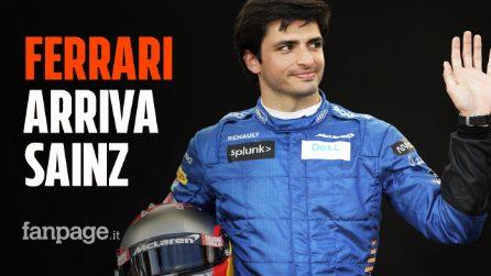 """Ufficiale, alla Ferrari arriva Carlos Sainz al posto di Vettel: """"Ciclo per tornare al vertice"""""""
