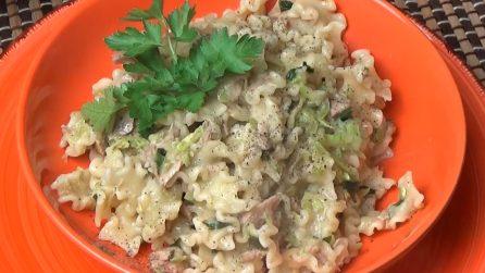 Pasta e zucchine: la ricetta del primo piatto pronto in 15 minuti
