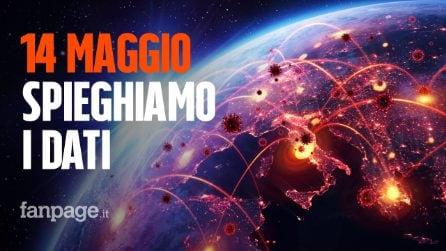 Coronavirus Italia, il bollettino del 14 maggio: la Lombardia non riesce a guarire dall'epidemia